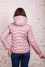 Стильная женская куртка - лак Монклер - весна 2020 - (кт-117), фото 3