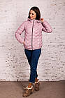Стильная женская куртка - лак Монклер - весна 2020 - (кт-117), фото 5