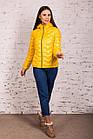 Стильная женская куртка - лак Монклер - весна 2020 - (кт-117), фото 2