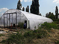 Арочная Фермерская теплица под двойную пленку с наддувом 8х12м, фото 1