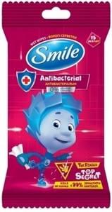 Салфетки  влажные  детские Фиксики 15 шт Smile baby 8804
