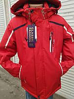 Куртка ветровка для мальчика весна-осень 134-158