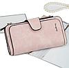 Женское портмоне клатч Baellerry Forever замшевый кошелек, фото 5