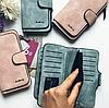 Женское портмоне клатч Baellerry Forever замшевый кошелек, фото 3