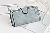 Женское портмоне клатч Baellerry Forever замшевый кошелек, фото 7