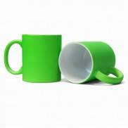 Чашка для сублимации неоновая (Салатовый)