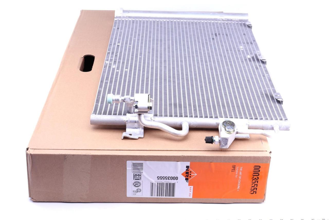Радиатор кондиционера Opel Astra H 1.4-1.8 2004-2014 NRF 35555