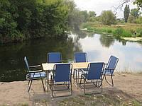 """Мебель для отдыха на природе """"Комфорт ФП2+6"""" (2 стола и 6 кресел)"""