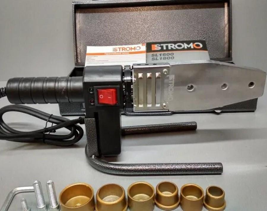 Паяльник для пластиковых труб Stromo SL-1600