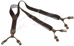 Подтяжки Riserva R3050 ц: коричневый