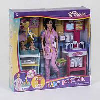 """Игровой набор JY 200-36 """"Детский врач"""" (24/2) с куклой,  в коробке"""