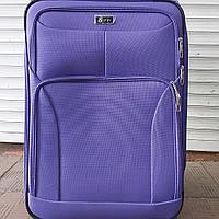 Тканевый чемодан Fly на 2 колеса, большой чемодан