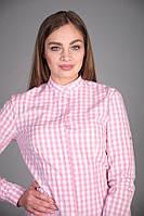 Женская рубашка для официанта в клетку