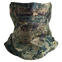 Маска-шлем Sitka Gear Face Mask. Размер - One size. Цвет: ground forest