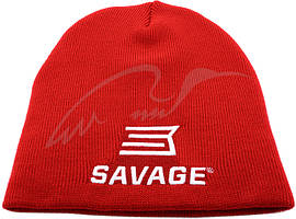 Шапка Savage Beanie hat вязаная ц:красный