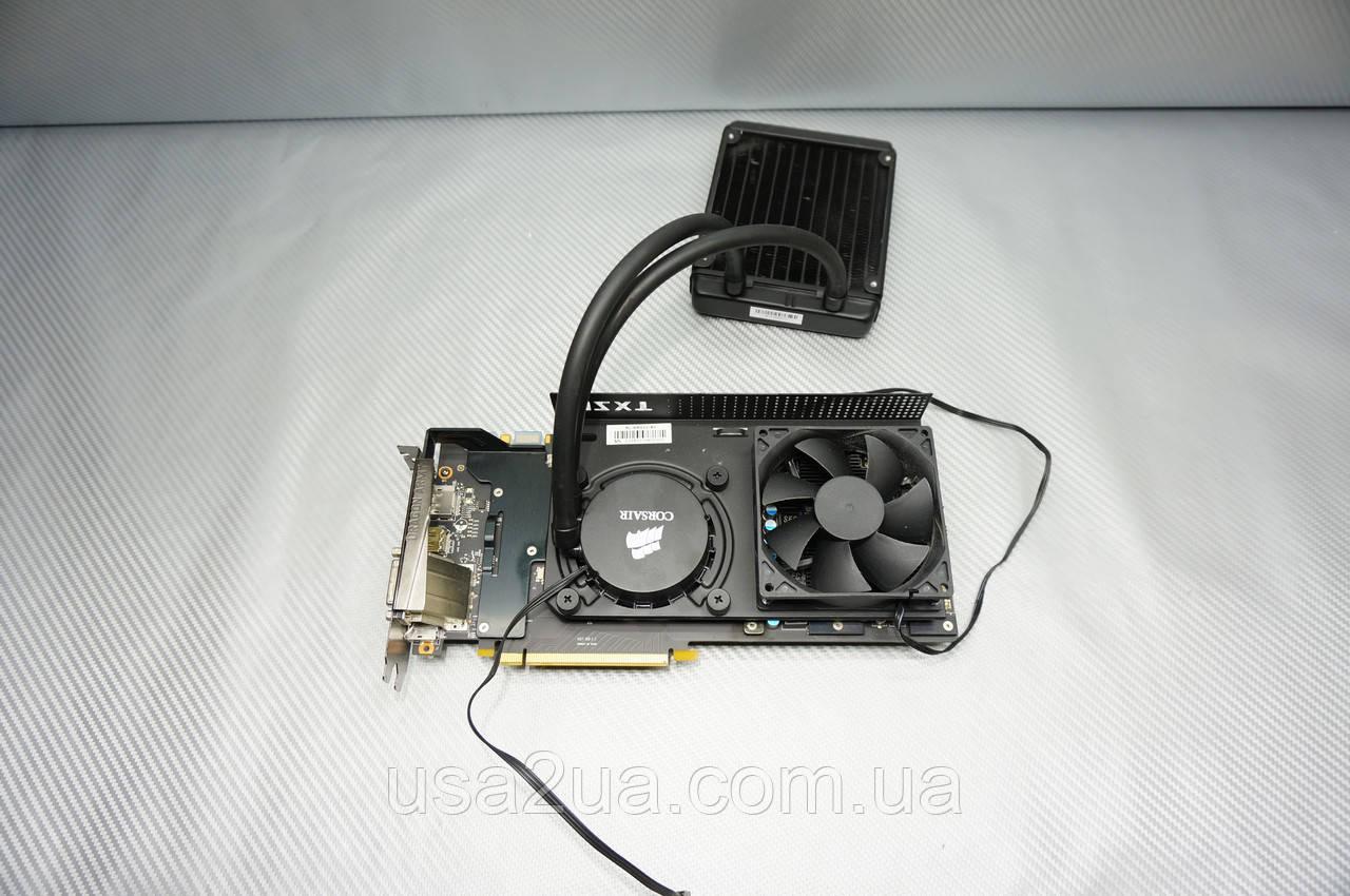 Видеокарта MSI GTX 980 NZXT 4 GB GDDR5 256-bit водяное охлаждение гарантия
