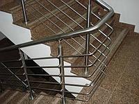 Сборные нержавеющие перила с прутами (4,5,6...)