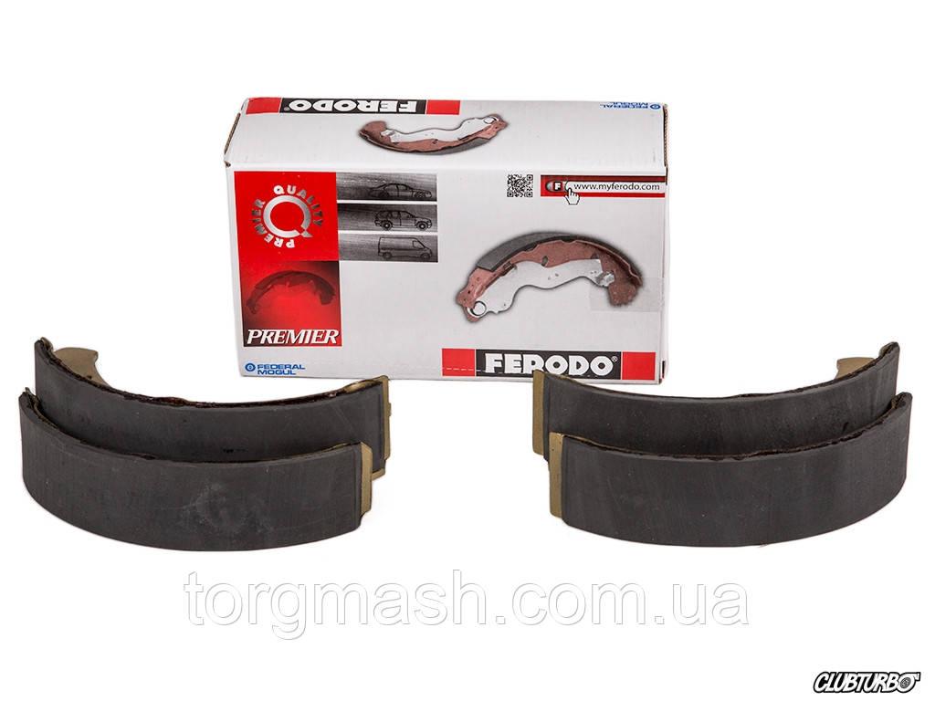 Колодки тормозные Ferodo ВАЗ 2108,2110,2170 задние