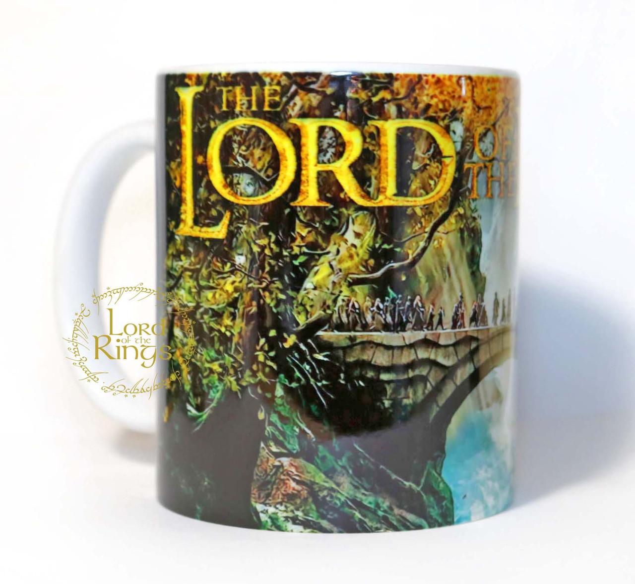 Чашка Властелин колец мост / The Lord of the Rings