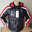 Демисезонная спортивная куртка мужская  со съемным капюшоном Польша, фото 5