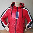 Демисезонная спортивная куртка мужская  со съемным капюшоном Польша, фото 4