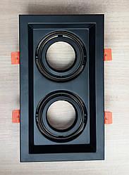 Карданный светильник Feron DLT202 чёрный встраиваемый