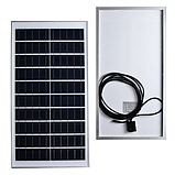 Прожектор JD-7200 200W, IP67, солнечная батарея, пульт ДУ, встроенный аккумулятор, таймер, датчик, фото 3