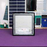 Прожектор JD-7200 200W, IP67, солнечная батарея, пульт ДУ, встроенный аккумулятор, таймер, датчик, фото 7
