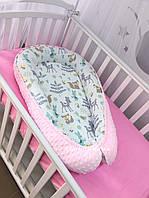 Кокон для новорождённого «Малыши-зверята»