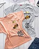 Футболка женская. Цвет: чёрный, белый, красный, мокко, горчица, лиловый, хаки, салатовый, серый, пудра, мята,, фото 8