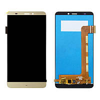 Дисплей  Prestigio MultiPhone PSP5551 Duo Grace S5 + тачскрин, золотистый