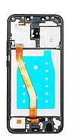 Дисплей  Huawei Mate 20 Lite (SNE-LX1) + тачскрин (сенсор), черный, с передней панелью
