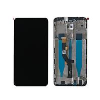 Дисплей  Meizu Note 8 + тачскрин (сенсор), черный, с передней панелью