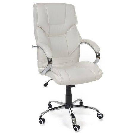 Офісне крісло керівника Vecotti Eden VIP білий, фото 2