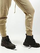 Костюм вязанный свитер+штаны Леопард  (S,M,L,XL) Польша коричневый 6698, фото 2
