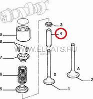 Направляющая клапана 1.9D Doblo 2000-2005 46433782