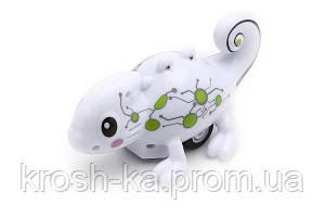 Индуктивная игрушка Хамелеон Happy Cow меняет цвет и ездит по линии Himoto Китай HC-777-61