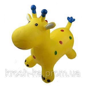 Прыгун Жираф в ассортименте Украина резиновый BT-RJ-0054