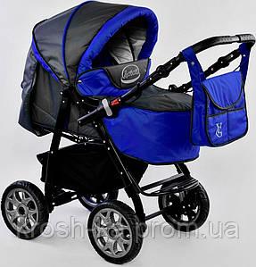Детская коляска-трансформер Карина Viki Украина синий ультрамарин
