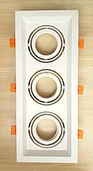 Карданный светильник Feron DLT203 белый