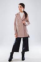 Пальто демисезонное для девочки Витни бежевое(140-158)р (Suzie)Сьюзи Украина ПТ-89006