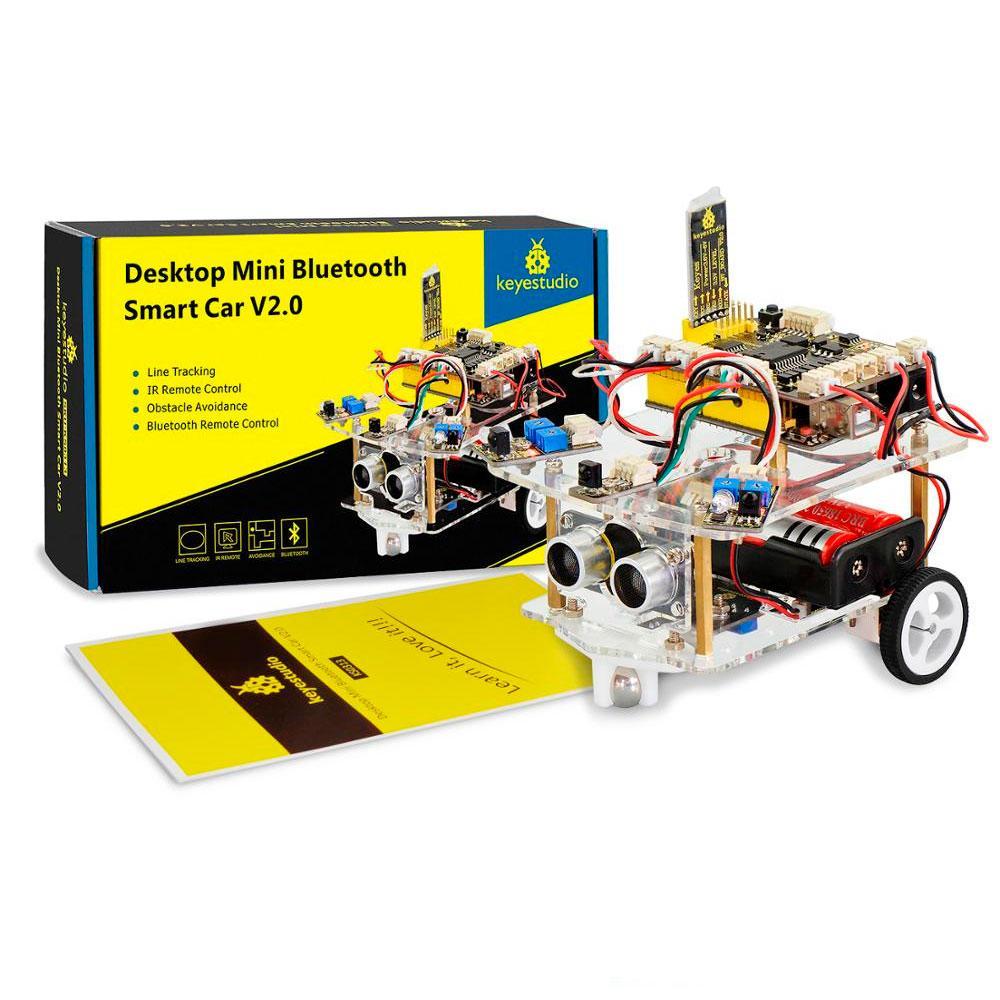 Arduino умная подвижная машинка Bluetooth Smart Car V2.0
