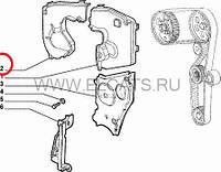 Крышка шестерни ТНВД 1.9D Doblo 2000-2005 46530206