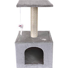 Когтеточка для кота Single серый Kobitz, фото 2