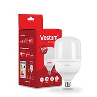 LED лампа Т120 Е27 40W 6500К VESTUM