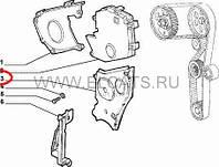 Крышка шестерни коленвала 1.9D Doblo 2000-2005 46515889