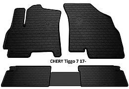 Коврики в салон резиновые Stingray CHERY Tiggo 7 2017