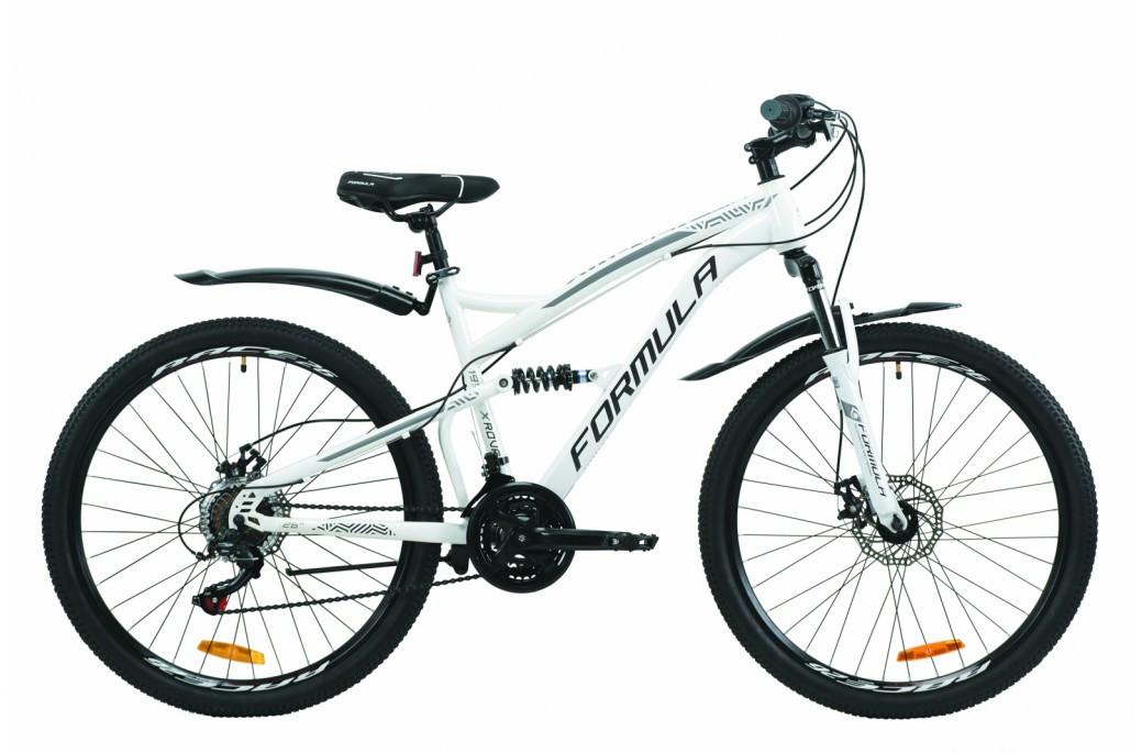 """Велосипед двухподвесный 26"""" Formula X-Rover AM2 DD 2020 стальная рама 19"""""""