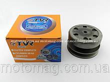Вариатор задний (сцепление) Suzuki Lets 1/2/3 (в сборе с чашкой) TVR