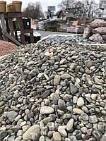 Речная галька Серая Украина Декоративный камень Ландшафт